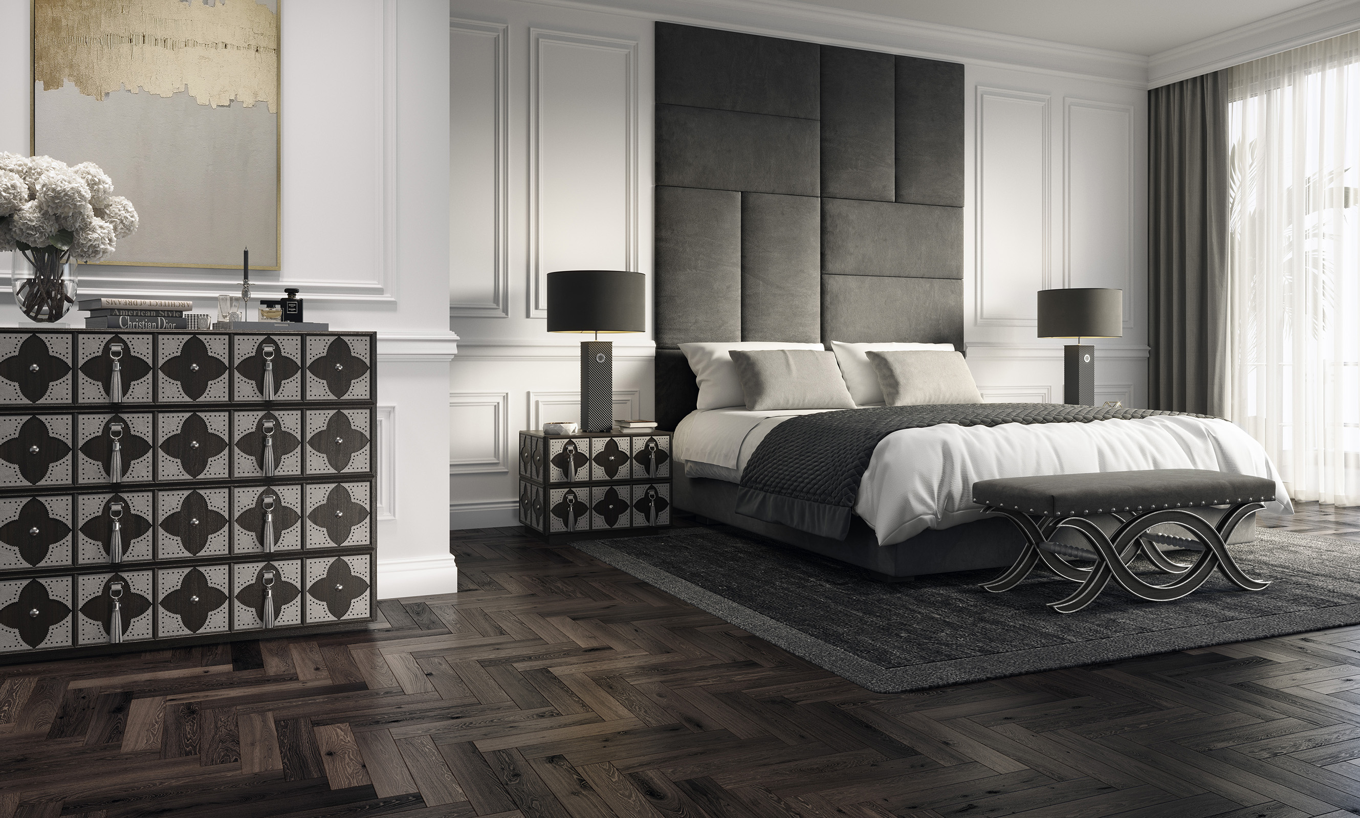 modern bedroom furniture, contemporary bedroom chest of drawers, contemporary commode
