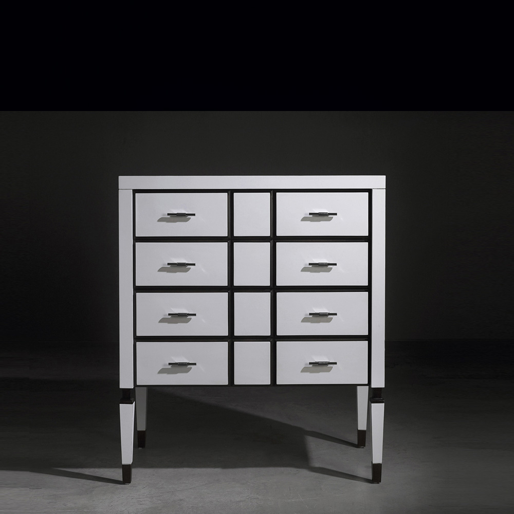 Luxury white Chest of drawers