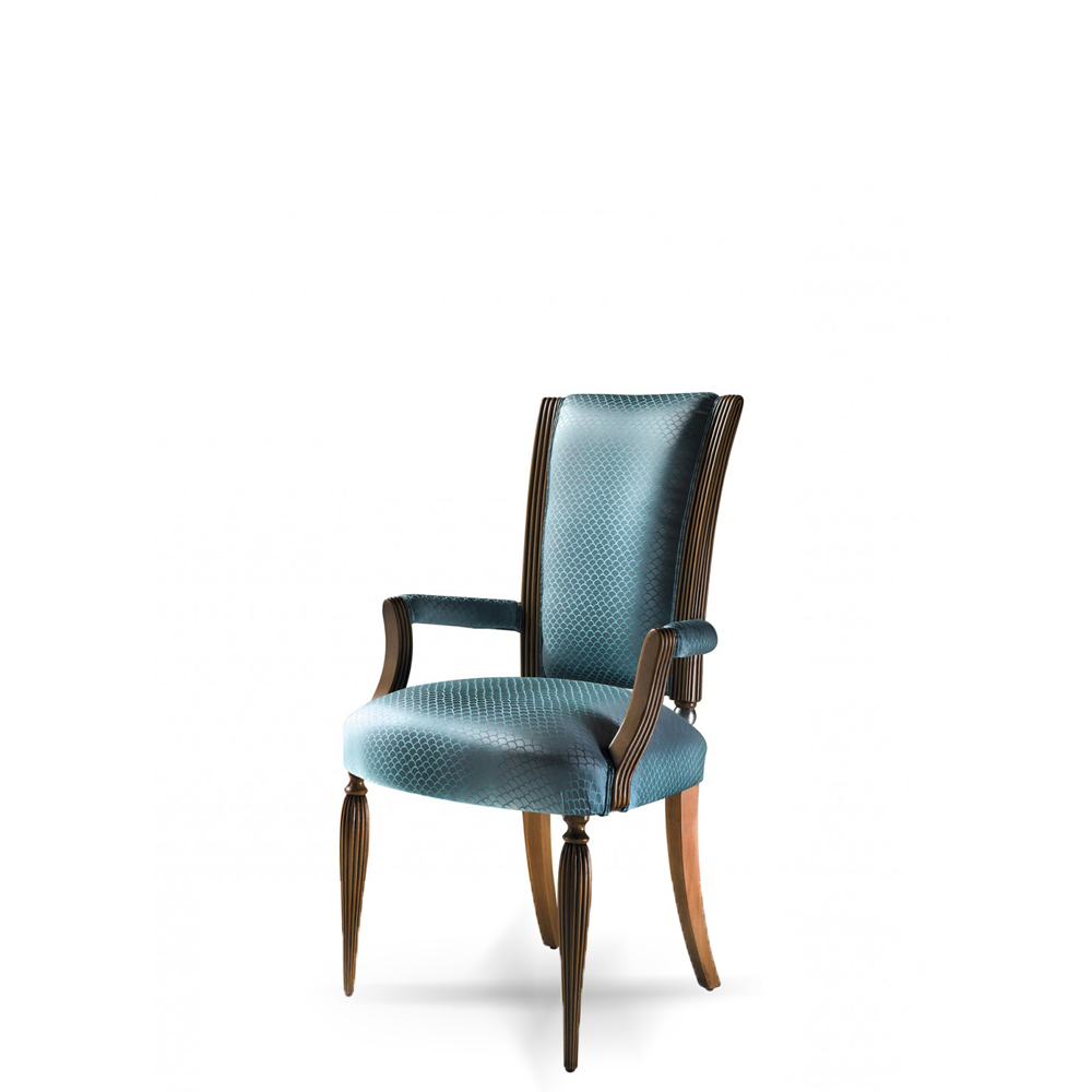 luxury blue dining room chair