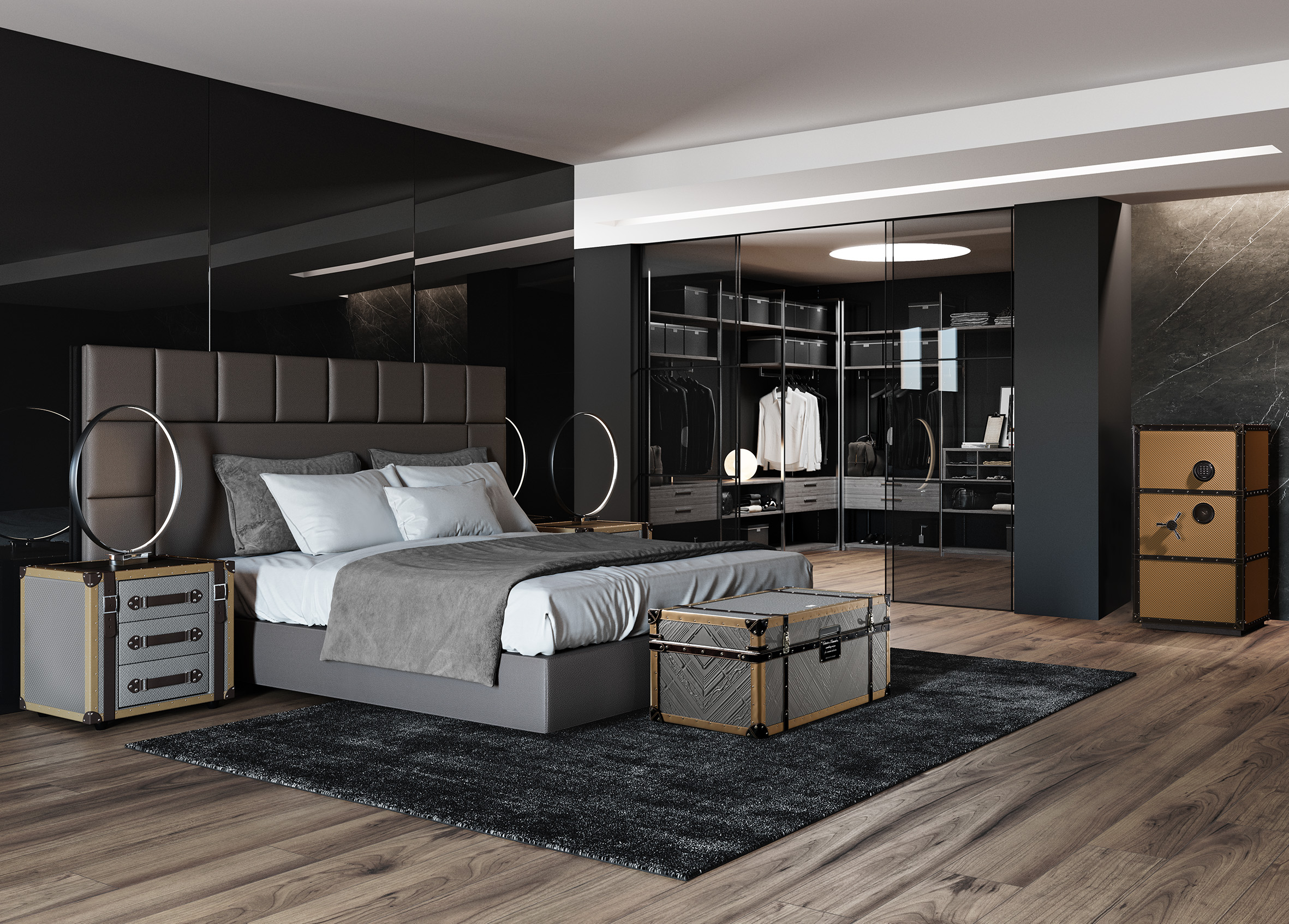 Coleccion Alexandra Luxury Bedroom Furniture Sets