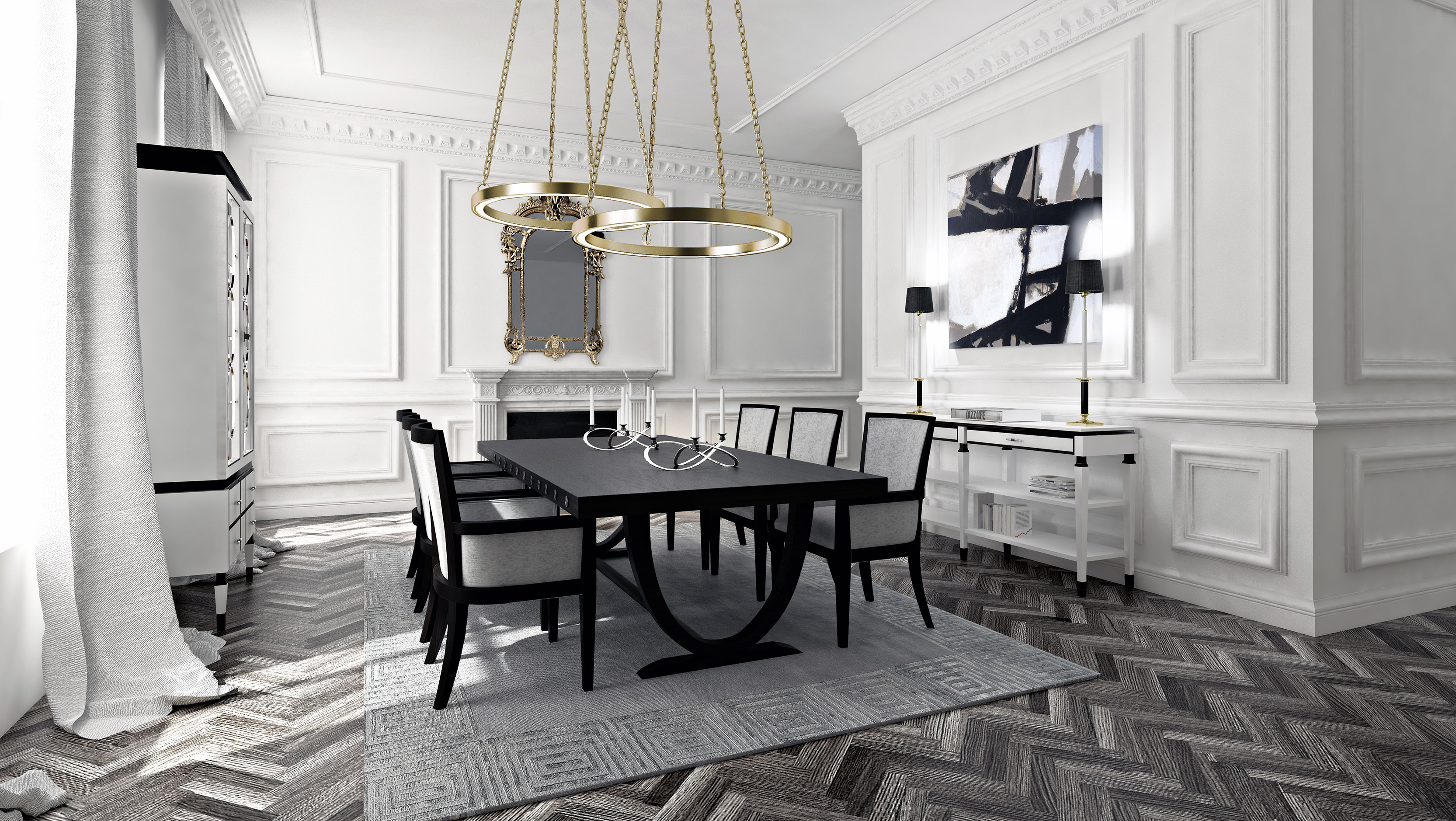 Luxury Dining Rooms Sets