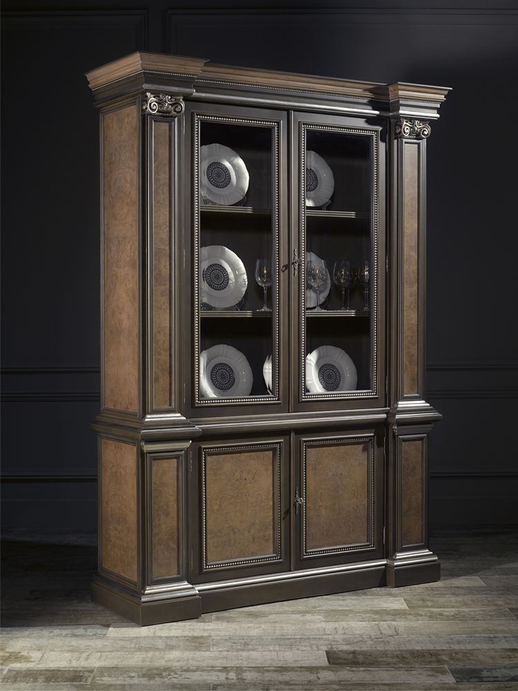 luxury dining room display cabinet