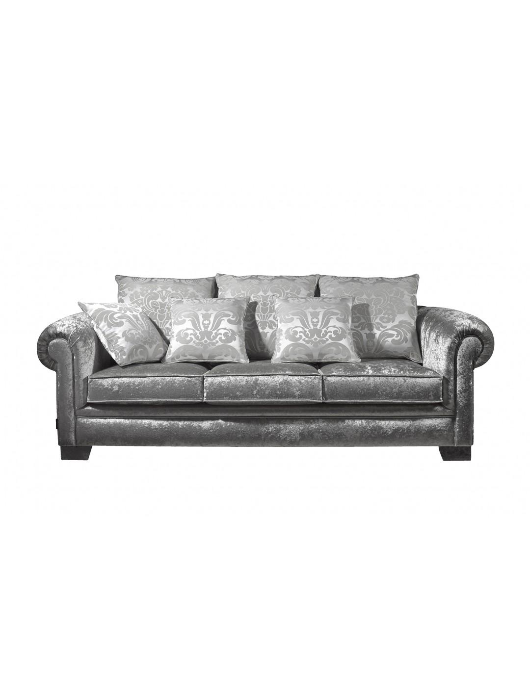 VICTORIA 3 SEAT-SOFA BED,3 (60X60 CM) CUSHIOMS,3 (45X45 CM) CUSHIONS, C.O.M.