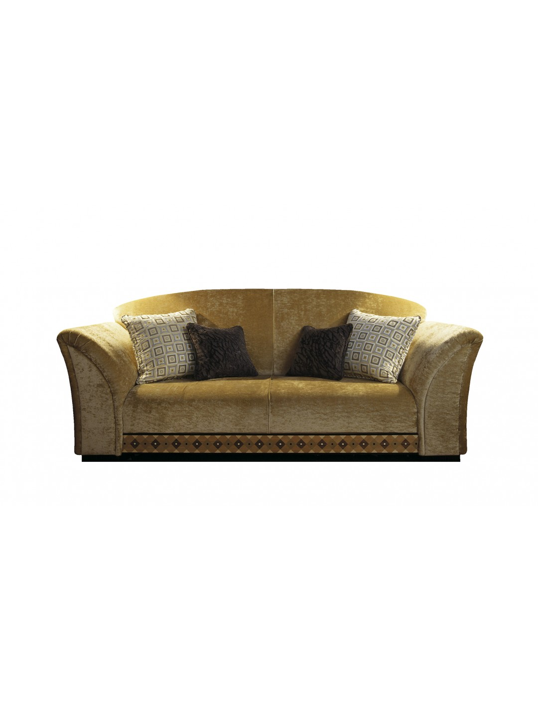MADRID 3-SEATER SOFA, TWO 60*60 AND TWO 45*45 CM CUSHIONS INCLUDED, C.O.M.