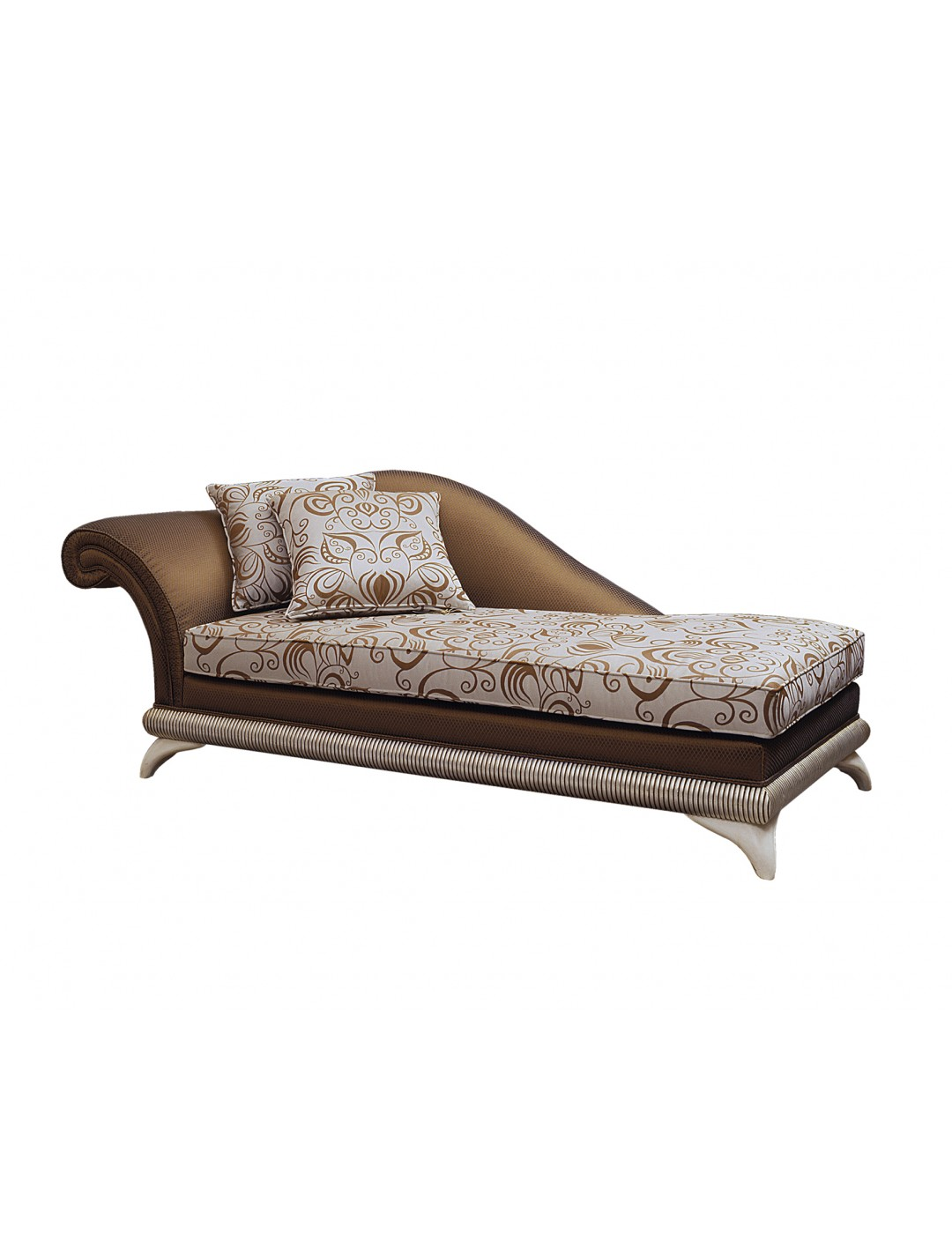 DECO CHAISE LONGUE, ARM ON THE LEFT,WITH TWO 50*50 CM CUSHIONS INCLUDED, C.O.M.