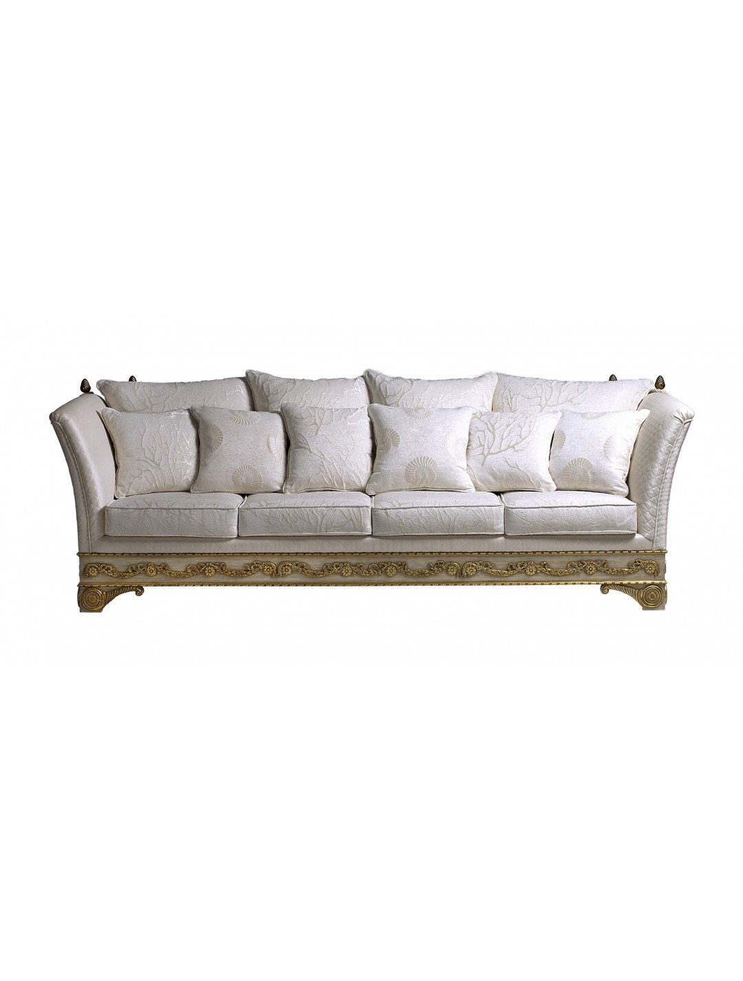 LORENA 4-SEATER SOFA, SIX 50*50 CUSHIONS INCLUDED, C.O.M.