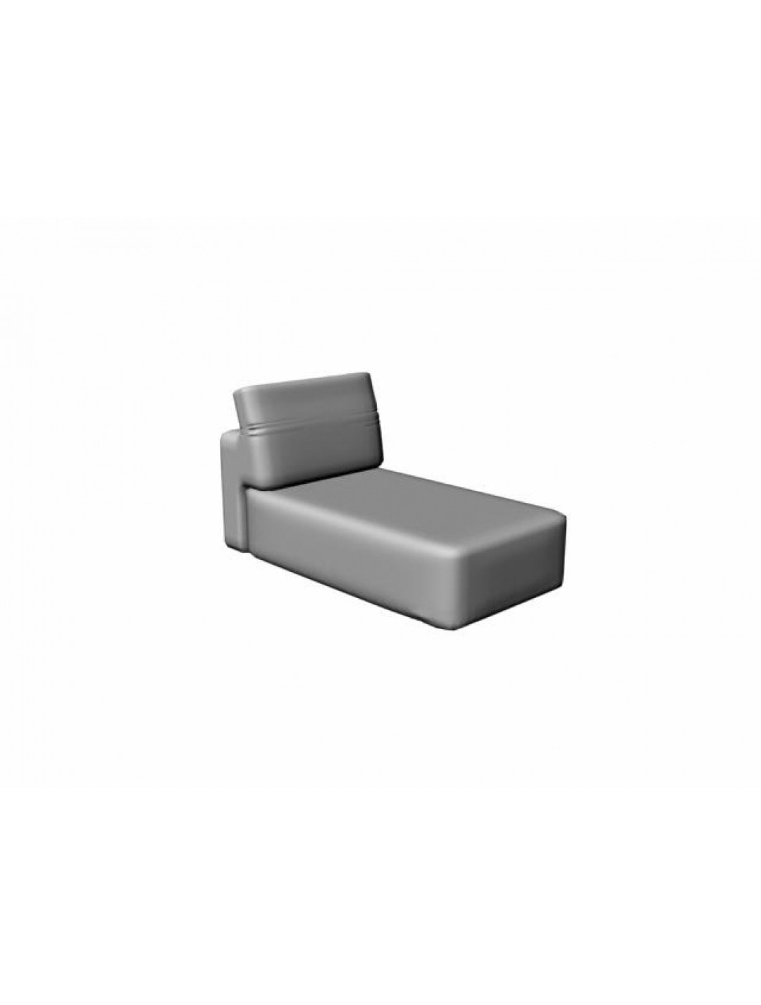 COSMOPOL CHAISE WITHOUT ARMS, C.O.M.