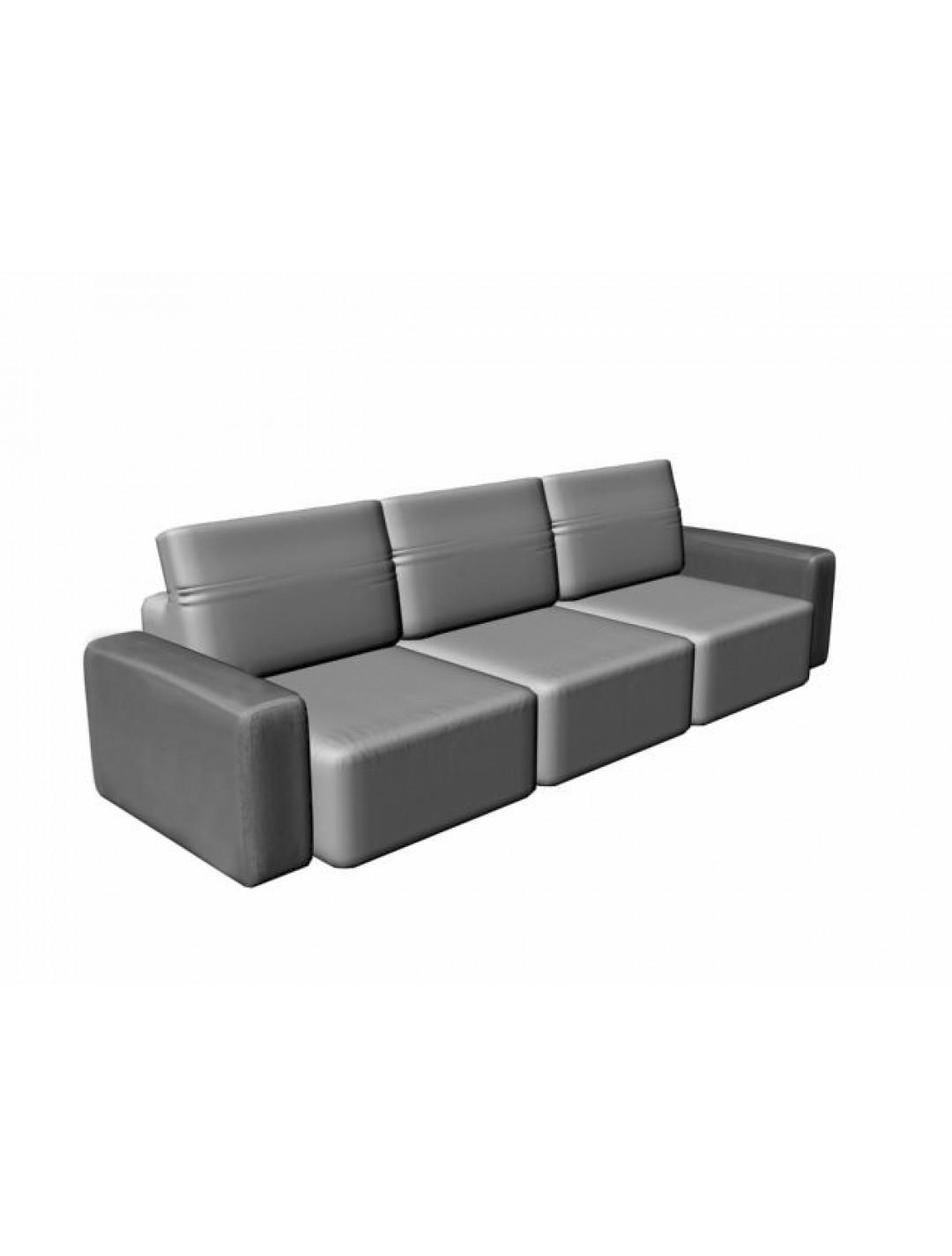 COSMOPOL 3 SEAT SOFA 2 ARMS, C.O.M.