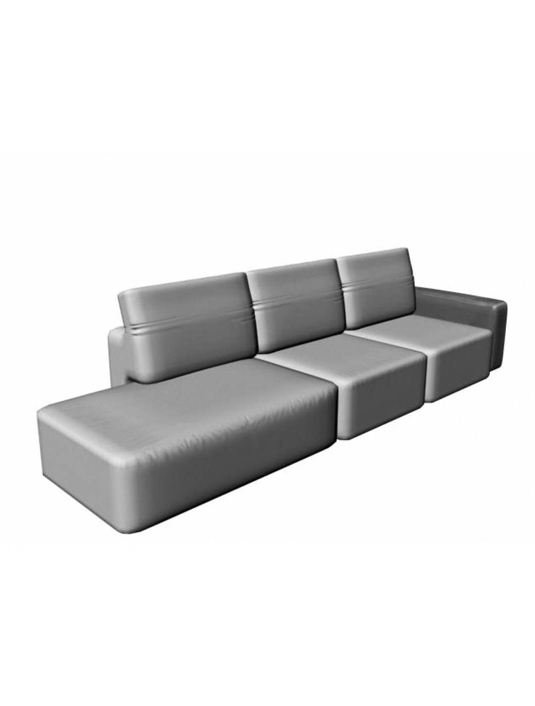 COSMOPOL 2 SEAT SOFA+BENCH RIGHT 1 ARM-LEFT, C.O.M.