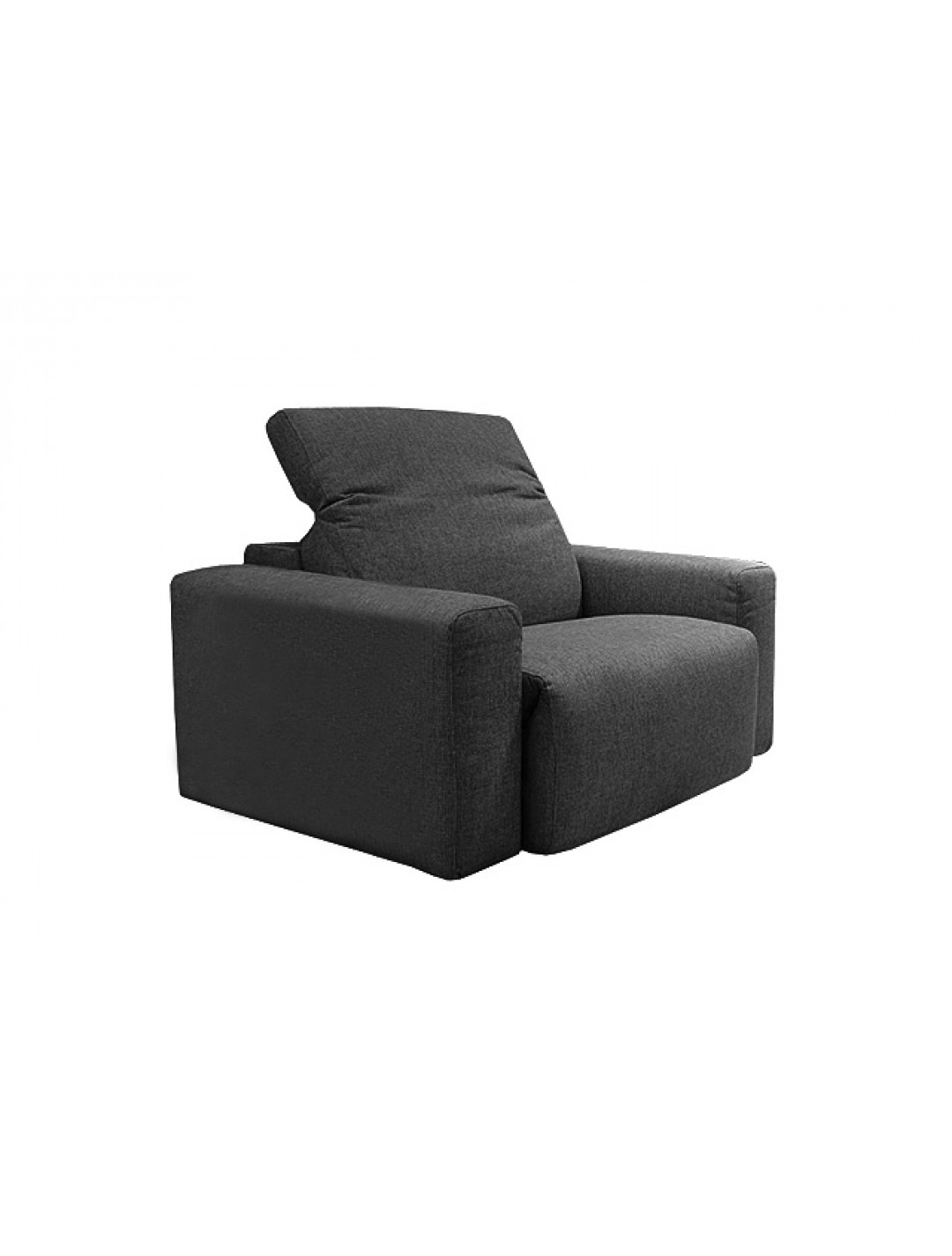 COSMOPOL ONE SEAT SOFA 2 ARMS ,UPHOLSTERY WITHOUT FABRIC:, C.O.M.