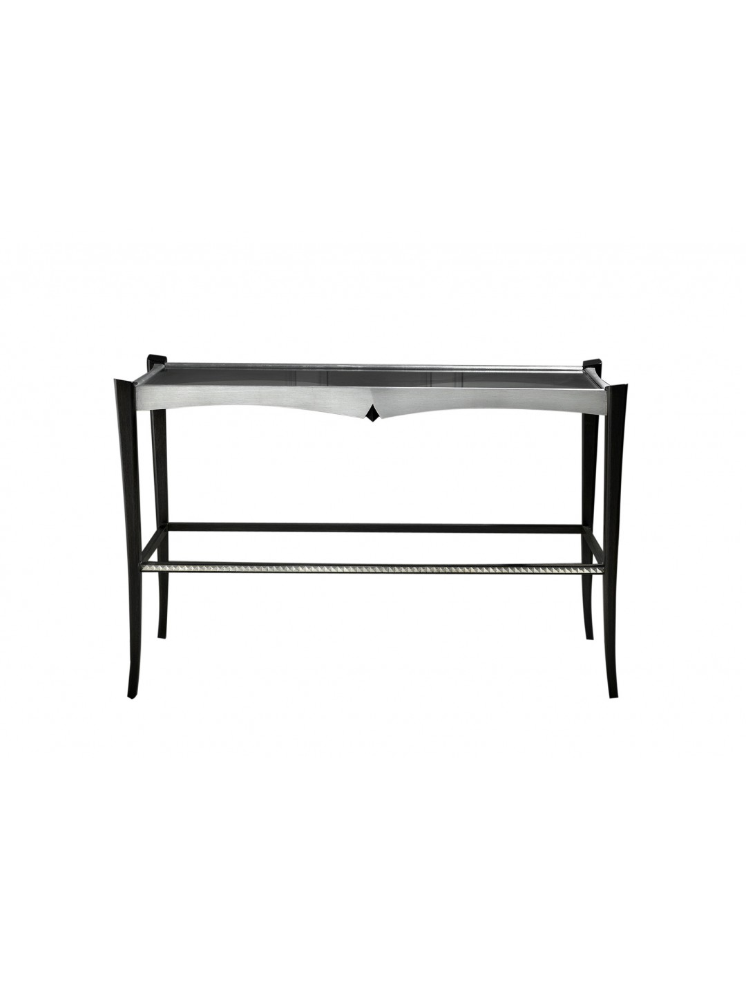 DURBAN CONSOLE, 8 MM GLASS TOP,