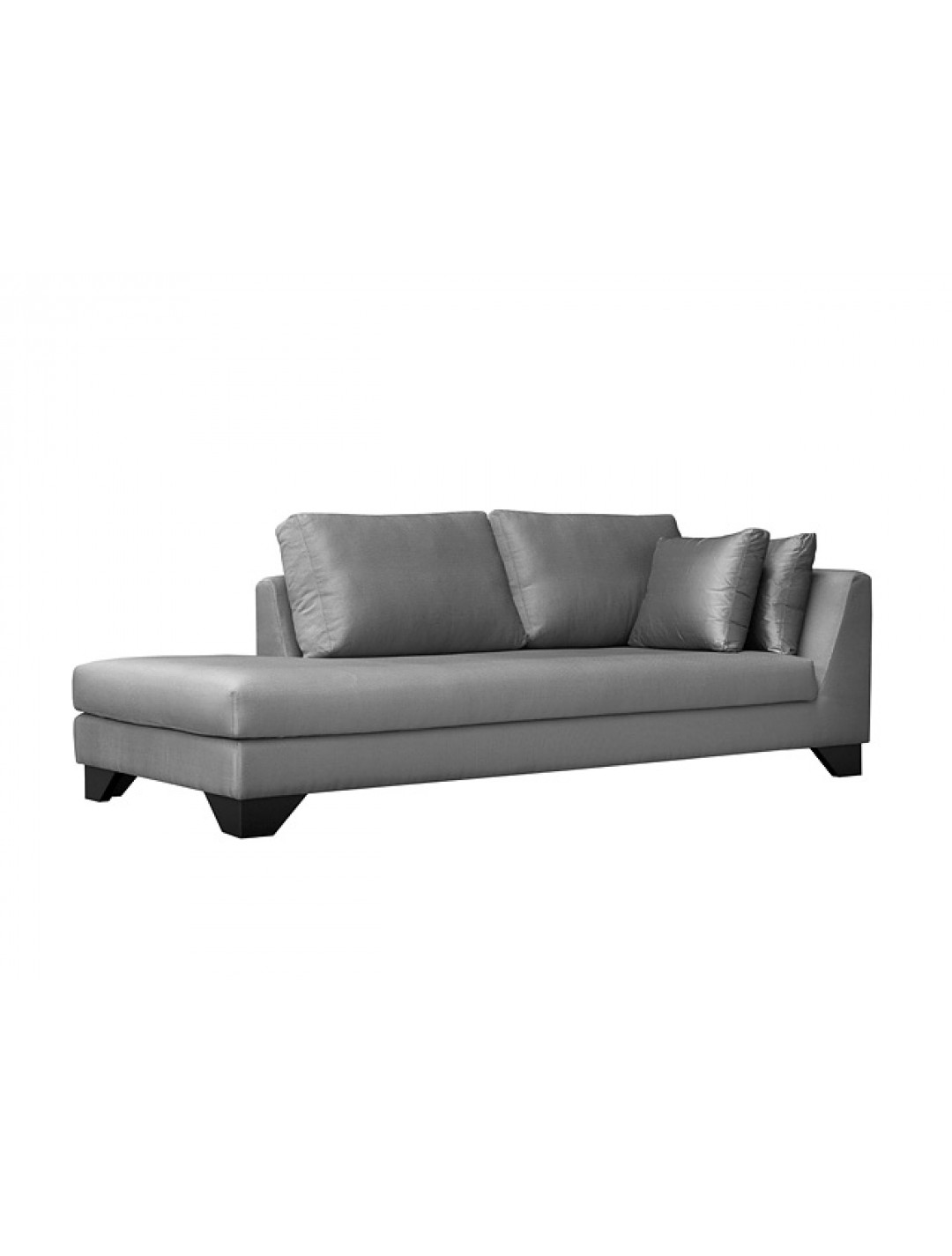 Dune 245 cr cm chaise longue upholstery without fabric for Chaise 60 cm