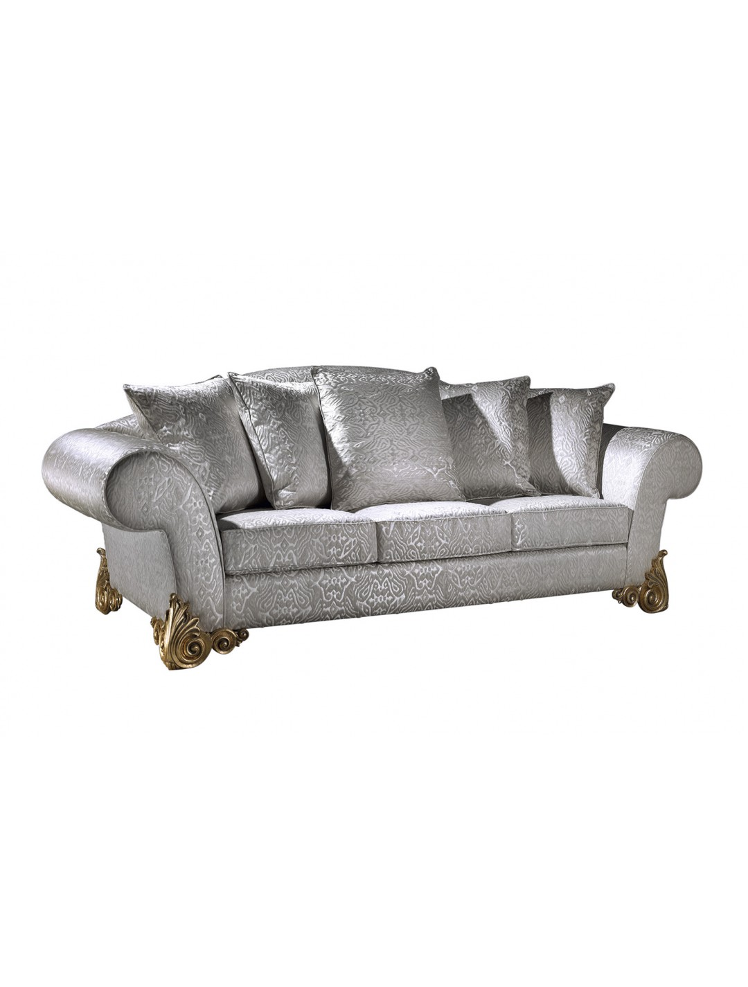 MARIOLA 3-SEATER SOFA, WITH FIVE 60*60 CUSHIONS INCLUDED, C.O.M.