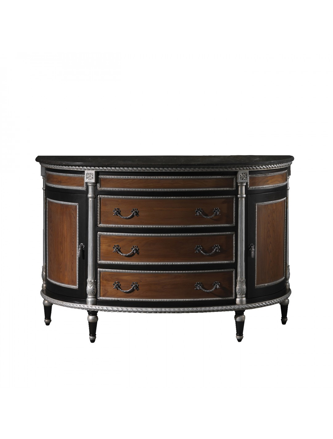 ANGELES SEMICIRCULAR CHEST OF DRAWERS
