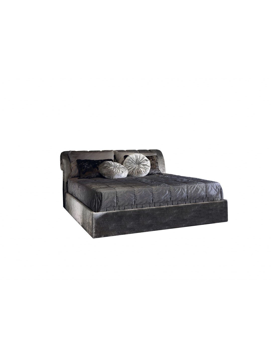 ALBA BED WITH UPHOLSTERED BASE (FOR 160X200 CM MATTRESS)