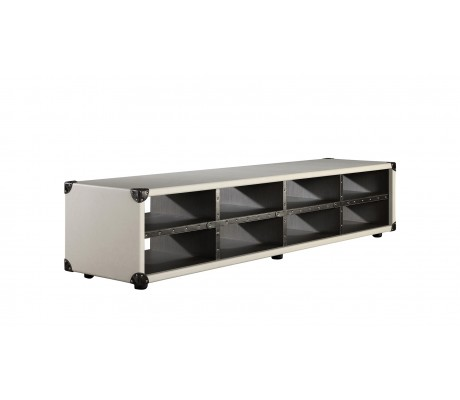 COMPASS L3 LOW SHELF UNIT, FINISH: ECO LEATHER, 200*50*44H