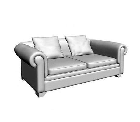 VICTORIA CAPITONE 2-SEAT SOFA,2 (60X60 CM) CUSHIONS, C.O.M.