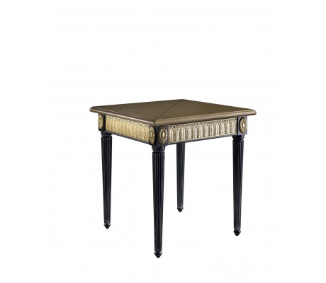ELITE SIDE TABLE, BRASS BORDER,