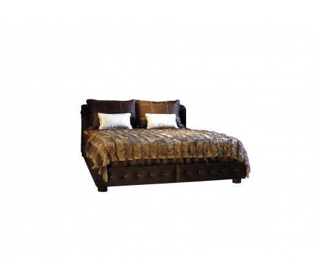 VICTORIA BED FOR 160*200 CM MATTRESS, NAILS ON SIDES -TO BE SPECIFIED-, C.O.M.