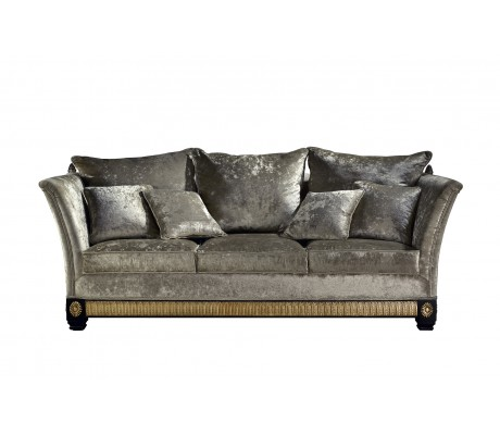 ELITE 3-SEAT SOFA, FOUR 45*45 CM CUSHIONS INCLUDED, C.O.M.