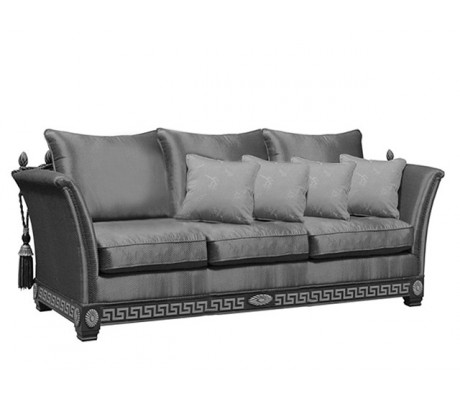 ELITE-EGEO 3-SEATER SOFA, FOUR 45*45 CUSHIONS INCLUDED, C.O.M.