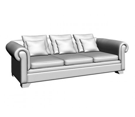 VICTORIA 3-SEAT SOFA,THREE PILLOW 60X60,THREE PILLOW 45X45 CM, C.O.M.