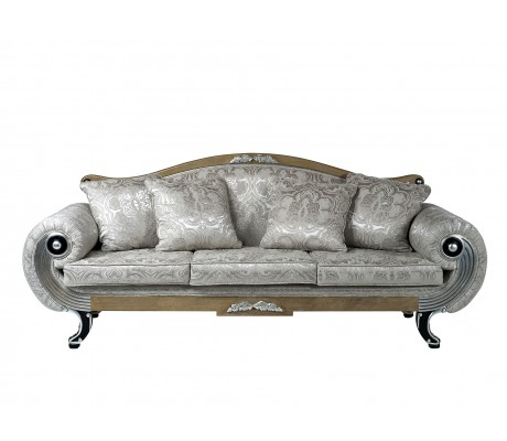 ALEXANDRA 3-SEATER SOFA, FOUR 50*50 CUSHIONS INCLUDED, C.O.M.