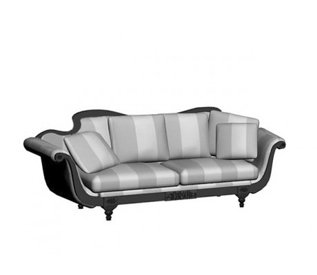 MADONA 3-SEATER SOFA, THREE 60*60, TWO 50*50 CUSHIONS AND TWO BOLSTERS INCLUDED, C.O.M.