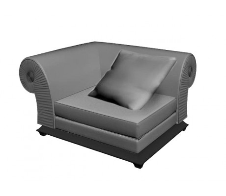 ALBA CORNER SOFA UNIT, ONE 70*70 CM CUSHION INCLUDED, C.O.M.
