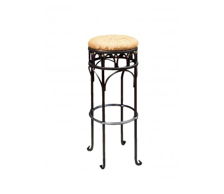 GRANADA BAR IRON STOOL