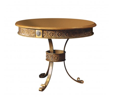 MARCO GAMBLING TABLE, IRON LEGS,