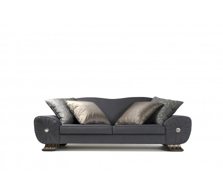 FELIPE 3-SEATER SOFA, TWO 60*60 CUSHIONS INCLUDED, UPHOLSTERY: C.O.M.