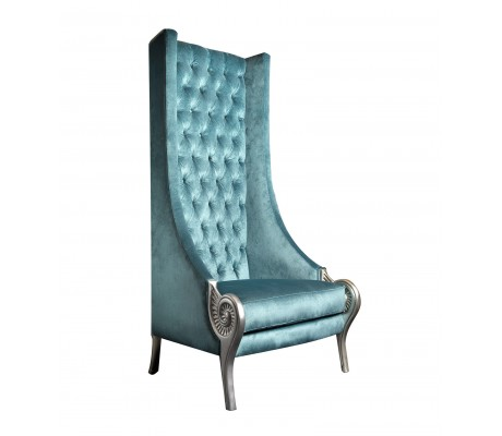 TROYANO ARMCHAIR, QUILTED BACK UPHOLSTERY, C.O.M.