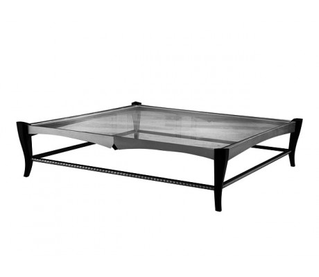 DURBAN COFFEE TABLE, 10MM GLASS, RECTANGULAR