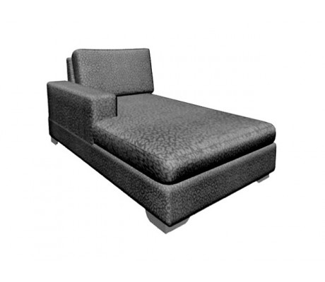 ORSON CR CHAISE LONGUE, UPHOLSTERY: WITHOUT FABRIC ,CHROMED ON LEGS, C.O.M.