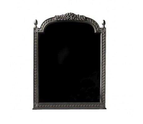 ANGELES CARVED WOOD MIRROR,93X116 CM