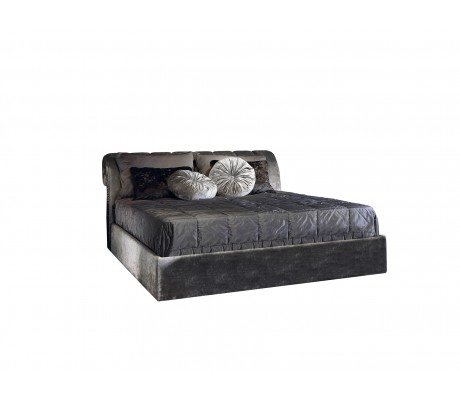 ALBA BED WITH UPHOLSTERED BASE (FOR 200X200 CM MATTRESS)