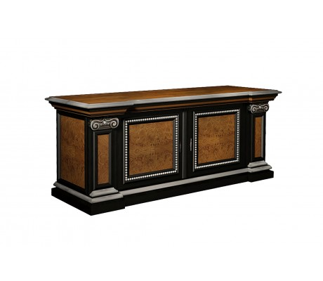 JUAN CARLOS RETURN CABINET, OAK TREE ROOT PANNELS,  SIZE 153*51.5*60H