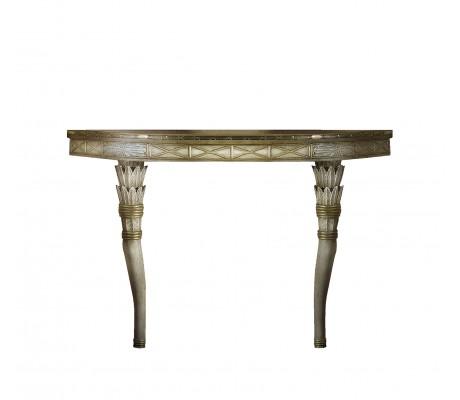 LORETO CARVED WOOD CONSOLE