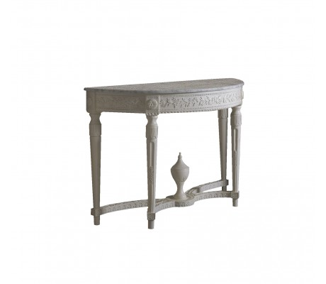 ANGELITA CARVED WOOD CONSOLE
