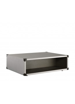 COMPASS T2 COFFEE TABLE, FINISH: ECO LEATHER, 130*90*40H