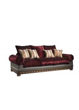 ROJAS 3-SEATER SOFA, THREE 70*70 AND FOUR 45*45 CUSHIONS INCLUDED, C.O.M.