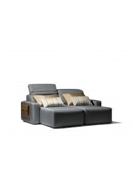 COSMOPOL DOUBLE CHAISE LONGUE 2 ARMS, C.O.M.