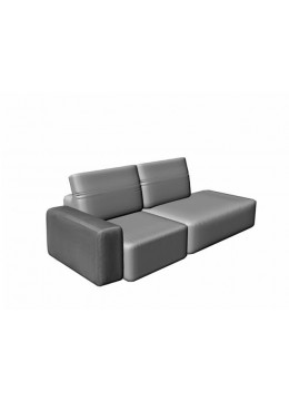 COSMOPOL 1 SEAT SOFA+1 LEFT ARM-RIGHT BENCH,REMOVABLE-CASE, C.O.M.