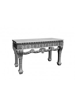 CONCHA CARVED WOOD CONSOLE