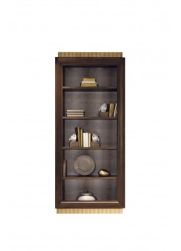 FELIPE BOOKCASE XL-4 UNIT 105X45X240 CM,UPHOLSTERED BACK,CUSTOMER