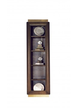 FELIPE BOOKCASE L-4 SHELVES UNIT,68*45*240H,UPHOLSTERY:WITHOUT FABRIC, C.O.M.