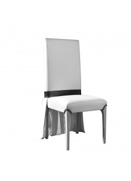 REGINA DEI GHIACCI DINING CHAIR, WITHOUT SKIRT ACCESSORY, C.O.M.