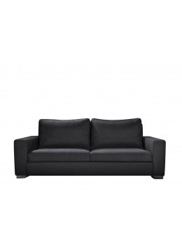 ORSON 100 TWO-SEATER SOFA, UPHOLSTERY: WITHOUT FABRIC ,CHROMED ON LEGS, C.O.M.