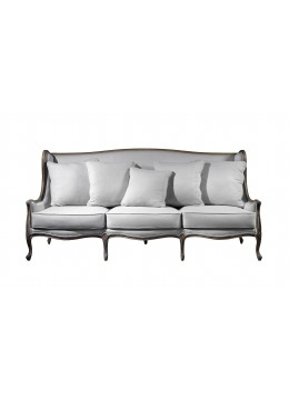 LANCASTER 3-SEATER WING SOFA, CUSHIONS NOT INCLUDED, C.O.M.